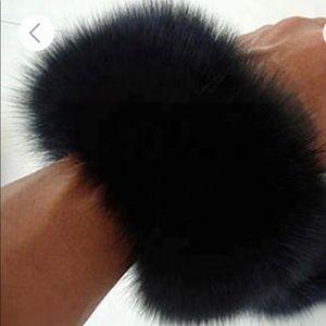 100% Fox Fur Arm Warmers